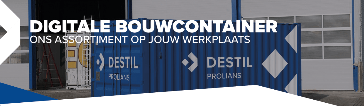 Digitale bouw container