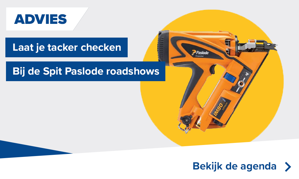 Spit Paslode roadshows